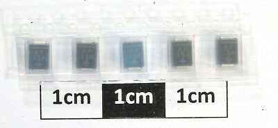 Vishay SMBJ7.5A-E3/52 Uni-Directional TVS Diode 600W 2-Pin DO-214AA (Pack of 5)