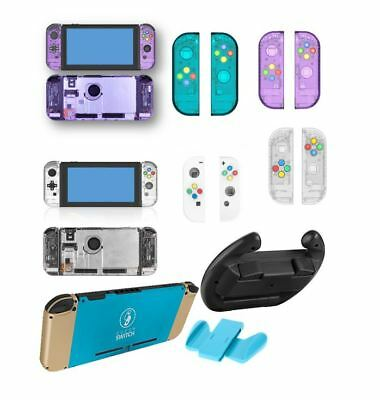 Selection of Nintendo Switch, Joy Con Shells | Steering Wheel | Grips | Colours