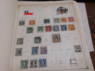 Chile 1867-1931 Lot Stamps mostly used some mint