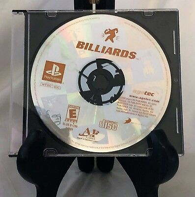Billiards - Sony Playstation 1 PS1 video game Disc Only Tested B2
