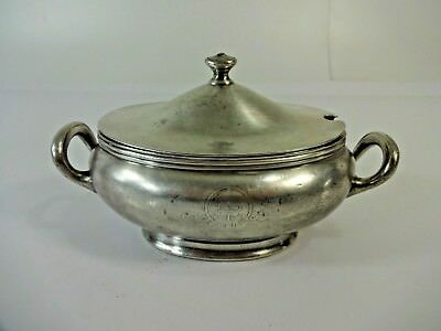 Smith Silver Co. Bridgeport CT. 18 oz. Silver Soldered Sauce Boat