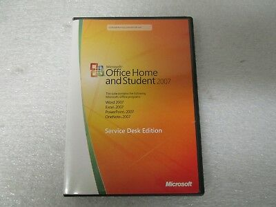 Microsoft Office 2007 Home & Student (3 Computer/s) - Full Version