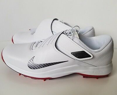check out 50270 ff890 Nike Men s TW  17 Tiger Woods White Golf Shoes (880955 100) - Size