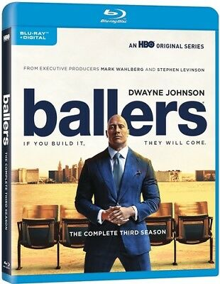 Ballers: The Complete Third Season [New Blu-ray]