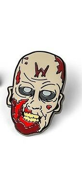 The Walking Dead Official Licensed AMC Enamel Collectible Pin Wolves Zombie New