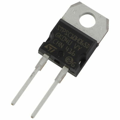 STM STPSC10H065D SiC-Diode 10A 650V Silicon Carbide Schottky TO-220AC