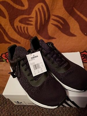 Adidas Wings + Horns Men NMD R2 Primeknit Core Black. Size 10.5 brand new in box