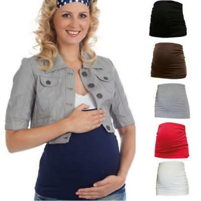 Maternity Belly Band Belt Back Support pregnancy Seamless Stretchable 3Sizes JA