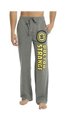 NWT LARGE Marvel Dr. Doctor Strange Eye Of Agamotto Lounge Pants w/ Pockets LG