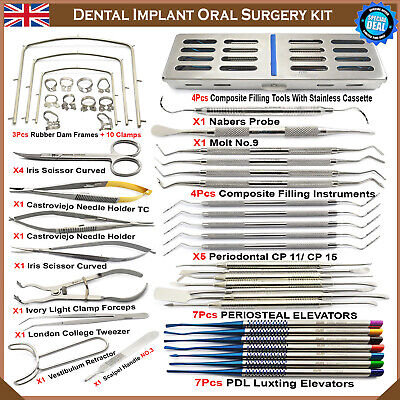 Basic Implant Kit Oral Advanced Oral Surgery Best Implantology Instruments New