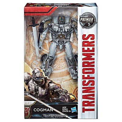 Transformers: The Last Knight Premier Edition Deluxe Cogman Figure