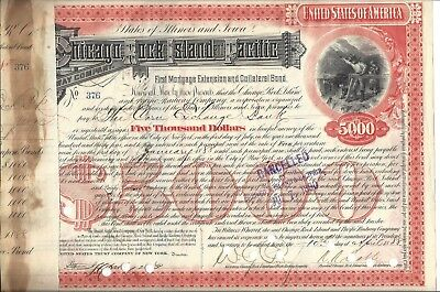 Chicago , Rock Island And Pacific Railway Company....1888 First Mortgage Bond