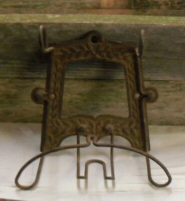 SCARCE CAST Antique 1885~MACK & NEWBURY ALBANY NY HAT AND COAT RACK