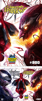 Amazing Spiderman 800 Francesco Mattina Connecting Variant Venom 1 Pre-Sale 5/30