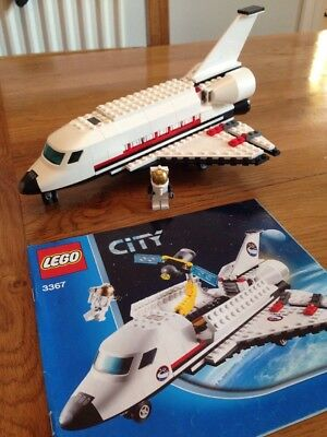 Lego 3367 Space Shuttle 100 Complete 2499 Picclick Uk