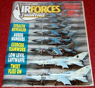 Air Forces Monthly 1988 December Ganso,RCAF,T-37