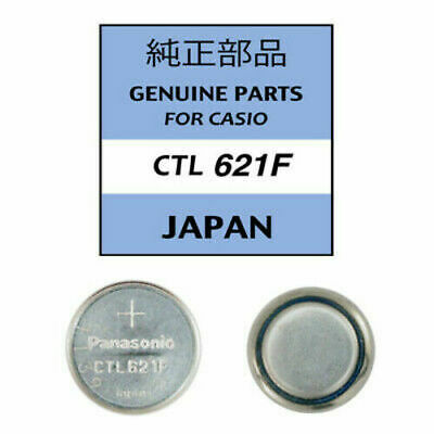 Panasonic Rechargeable Watch Battery CTL621 for Casio Watches CTL 621F NEW UK