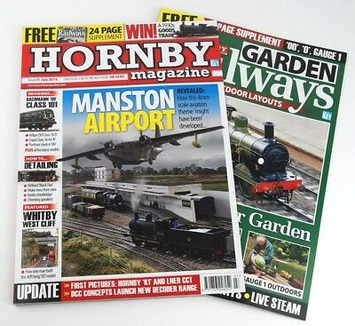 Hornby Magazine 2014-16 Scale Modelling Scenery Tutorials Railway Trains Scale