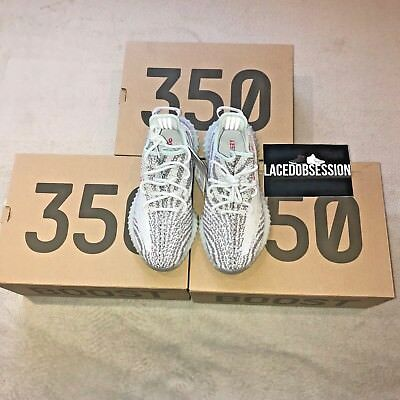 hot sale online 4ac93 7a658 Adidas Yeezy Boost 350 V2 Blue Tint 100% Authentic UK 6 7 8 9 10
