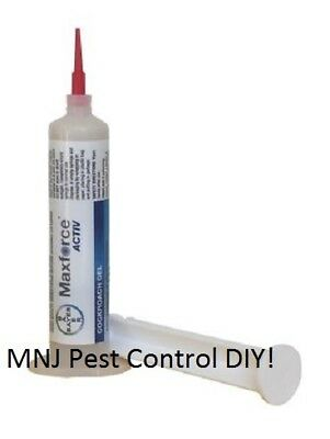 3x Maxforce Activ Gel Cockroach, + 6 Sticky Traps Complete Lifecycle Gel