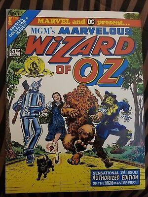 1975 MARVEL and DC present MGM's Marvelous WIZARD OF OZ Comic Book Vol. 1, No. 1