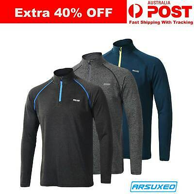 ARSUXEO Autumn Breathable QuickDry Long Sleeve Thermal Cycling Jacket Bike Ridin