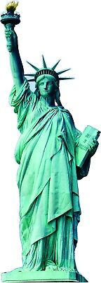 Statue of Liberty Large Size 8ft tall CARDBOARD CUTOUT Standee Standup