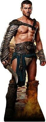 """Spartacus 72"""" Lifesize CARDBOARD CUTOUT Standee Standup Andy Whitfield"""
