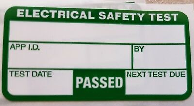 30 x PAT Test Pass Labels / Stickers (BUY 2 Get 1 FREE)