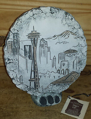 Shapes of Clay by Stan Langtwait Seattle Space Needle, Mount St. Helens Ash