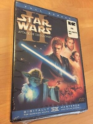 Star Wars Episode II Attack of the Clones (DVD 2002 2-Disc Set) BRAND NEW SEALED