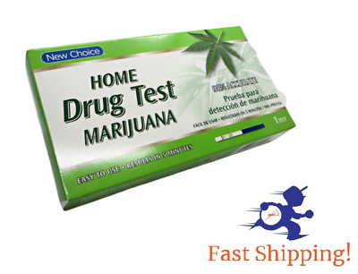 Marijuana Drug Test Urine Kit Pot,Cannabis,Weed,THC 2 Testing Kits Free Shipping