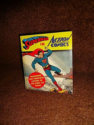 Superman In Action Comics 1St Abbeville Covers 25 Years Mini Book 1993