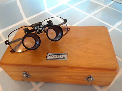 SheerVision 250-R FLIP-UP LOUPES  loupe sheer vision