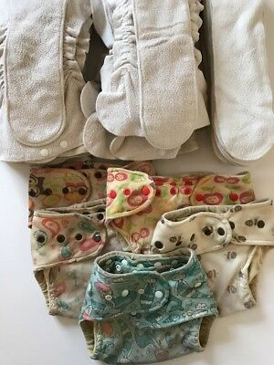 One Love Wool-in-Two One-Size Organic Cloth Hybrid All-in-Two Diaper System AI2