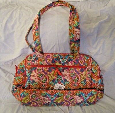 new with tag large Vera Bradley Stroll Around Baby Bag Paisley in Paradise