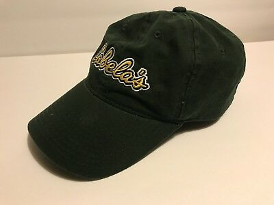 be83dc39976 Cabelas Baseball Cap Green Adjustable Hat Embroidered Yellow Logo Strap back