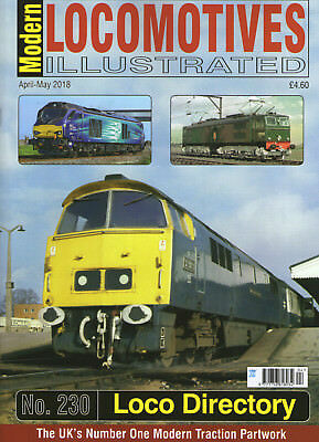 Modern Locomotives Illustrated 230 Loco Directory NEW!! JUST OUT