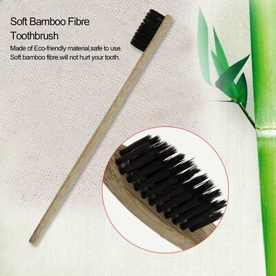 Brosse à dents écologique en bambou Bamboo Fibre Soft Teeth Brushes HG