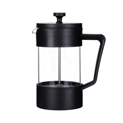 Cafe Ole Colours 0.6L Cafetiere Black Coffee Maker Fresh Coffee Ground Beans