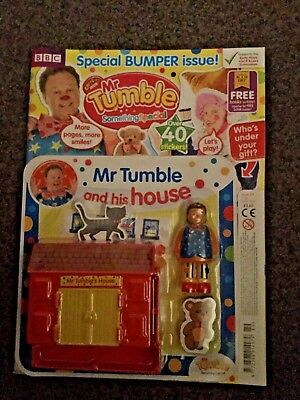 CBeebies Mr Tumble Something Special Magazine #89 MR TUMBLE AND HIS HOUSE
