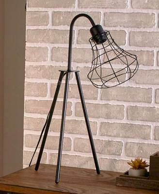 The Lakeside Collection Vintage Caged Table Lamp
