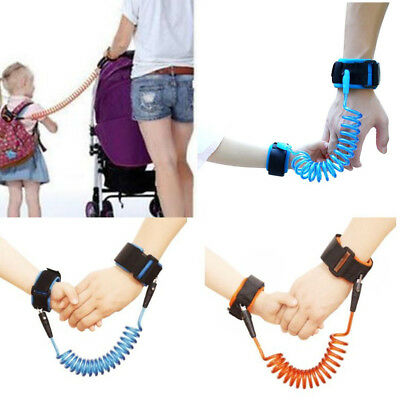 Safety Harness Leash Anti Lost Baby Kids Wrist Link Wristband Rope For Toddler