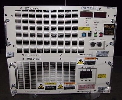 @@ Daihen Corporation Aga-50B2-V Rf Generator & Dgp 120A2-V Dc Power  (#1723)