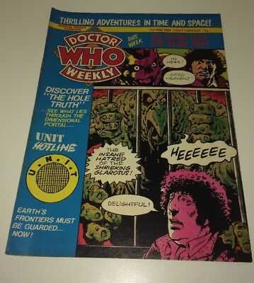 Doctor Who Weekly No 32 - May 21 1980 Marvel Comics UK BBC TV Magazine Tom Baker