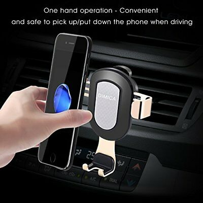 Car Phone Holder Vent Mount Holder iPhone X, 8, 7 Samsung S8, S7/S6
