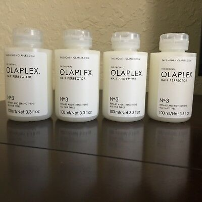 Olaplex (4) FOUR Hair Perfector No.3 - 3.3 fl oz. Brand New - Sealed - Authentic