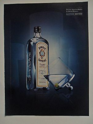 2003 Print Ad Bombay Sapphire Dry Gin Martini ~ Marcel Wanders