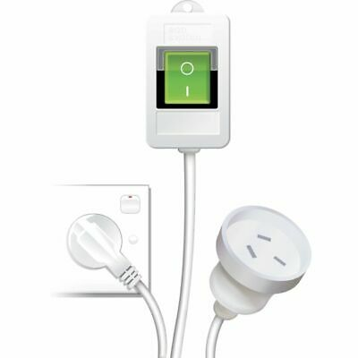 ECOSWITCH ECO SWITCH Easy Reach Power Switch Extension Illuminated 'Y' Save