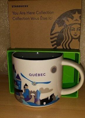 Starbucks YAH You Are Here City Series QUEBEC mug NWT (With Accent Mark)